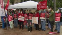 Nurses in Philadelphia Rally Over Staffing Concerns