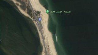 Map of Sandy Hook Beach C