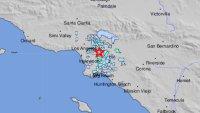 3.6 Magnitude Earthquake Wakes Up Los Angeles Area