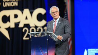 Charlie Gerow, chief executive officer of Quantum Communications Inc., speaks during the Conservative Political Action Conference