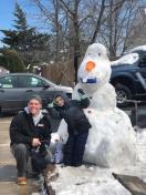 [UGCPHI-CJ-weather][EXTERNAL] Olaf snow man