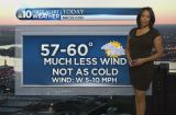 Forecast: Warmer, Less Windy