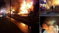 Crews Battle Fire at Tavern in Millville