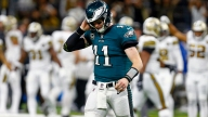 Against Saints, Eagles See a Carson Wentz We've Never Seen Before