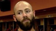Pitcher Jake Arrieta Upset With Bryce Harper for Ejection