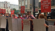 Nurses Demonstrate at Hahnemann Call for Improvised Staffing