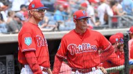 Phillies Coach Dusty Wathan to Interview for Rangers Manager
