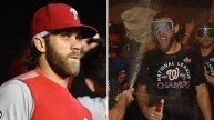 Bryce Harper Shares Thoughts on Nationals Playing in World Series Without Him