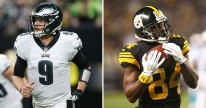 Oddsmakers Post Odds for Nick Foles and Antonio Brown's Next Teams