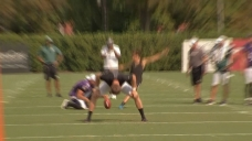 Watch Carli Lloyd Hit a Looong Field Goal After Eagles Practice