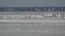 Brutal Cold Creates Dangerous and Icy Conditions at Jersey Shore