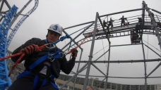 Firefighters Undergo Important Training to Help Them Rescue People Stuck on Rides