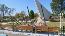 Strong Winds Damage Popular South Jersey Religious Shrine