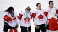 Canadian Hockey Player Sorry for Yanking Medal Off Her Neck