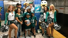 Eagles Fan Hit With Fame After Hitting Pole Gets NFL Glory