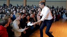 Beto O'Rourke in PA as State Sees Youth Voters' Surge