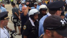 Protesters Detained, Cited Outside DNC