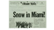 Snow in Miami: Glenn Reflects on 'Freakish' Event