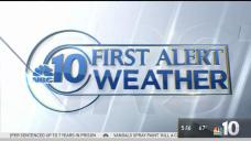 NBC10 First Alert Weather: Cloudy, Chance of Rain
