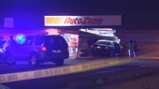 Police Chase Leads to Crash at AutoZone Building