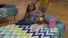 Two Dozen Kids Gifted New Beds During Special Sleepover