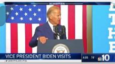 Joe Biden Visits Drexel University