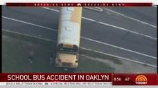 School Bus Strikes Pole in Camden County
