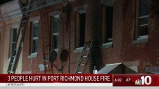 Three Hurt in Port Richmond House Fire