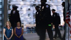 Fallen Philly Officer's Mother Appears at DNC