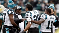 Malcolm Jenkins, Eric Reid Exchange Words During Eagles-Panthers Coin Flip