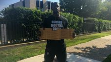 Player Standing Outside NovaCare Complex Hoping for Shot With...