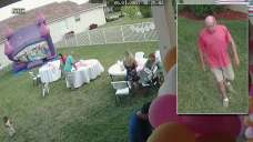 Neighbor Caught Pulling Plug on Bounce House During Party