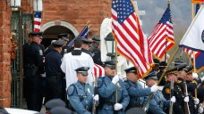 Thousands Attend Funeral For Slain PA Officer