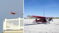 Plane Lands on Secured Coast Guard Beach, Pilot Missing