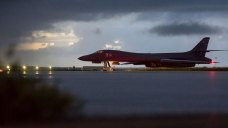 US Flies Bomber, Fighter Mission Off North Korean Coast