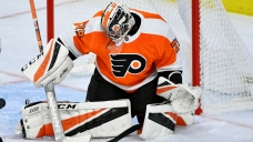Flyers' Carter Hart Injured, Out at Least 10 Days