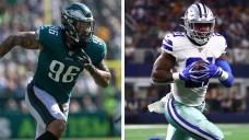 5 Matchups to Watch as Eagles Visit Cowboys