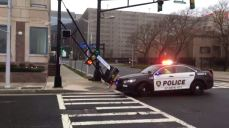 Heavy Wind Causes Damage as Nor'easter Slams Region
