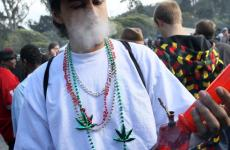 Pot Smokers Light Up in Golden Gate Park for Annual 4/20 Celebration