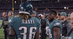 Watch Eagles Roast Jay Ajayi After 71-yard Run for Getting Caught