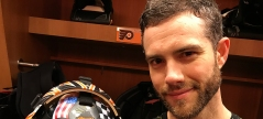 Flyers Mascot Gritty Featured on Mike McKenna's Goalie Mask