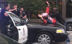 "Man Steps in Front of Car, Peacefully Ends ""Victory Parade"" Police Pursuit"