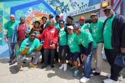 NBC10 Joins Community Cleanup During Comcast Cares Day