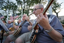 String Band Performs Summer Mummers Concert