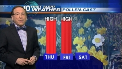 Pollen-Cast: 4pm Wednesday