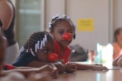 Kids Celebrate Red Nose Day