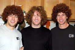 Scott Hartnell Wig Giveaway Night Thursday