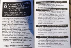 Misprinted Schedules Cost SEPTA, Cause Confusion