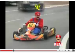 Must See Video: It's Mario Kart Live