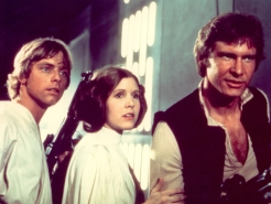 """""""Star Wars"""": George Lucas Tipped Off Mark Hamill and Carrie Fisher About New Trilogy"""